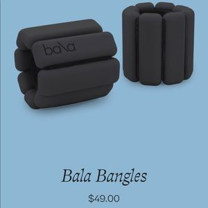Bala Bangles arm/ankle bracelet weights